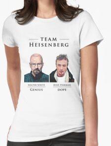 Team Heisenberg Womens Fitted T-Shirt