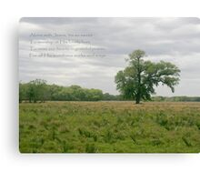 Alone with Jesus Canvas Print