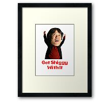 Get Shiggy With It Framed Print