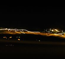 Lights along the road by MargaretMyers