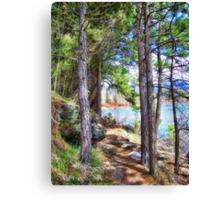 Riverwalk Trail Canvas Print