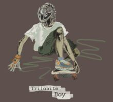 Trilobite Boy sk8 by Glendon Mellow