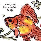 Goldfish Words by dosankodebbie