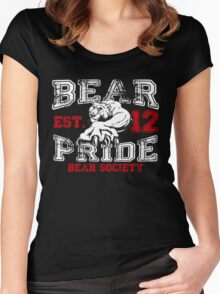 Bear Society Pride, Est. 12 Women's Fitted Scoop T-Shirt