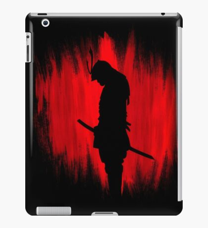 The way of the samurai warrior iPad Case/Skin