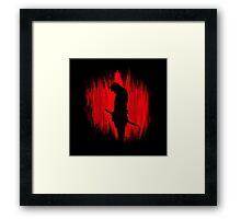 The way of the samurai warrior Framed Print