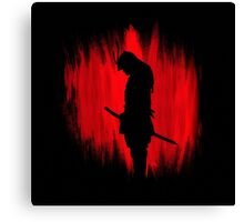 The way of the samurai warrior Canvas Print
