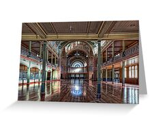Royal Exhibition Building • Melbourne • Australia Greeting Card