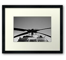 The Helicopter Framed Print