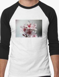 Spring Blossoms Men's Baseball ¾ T-Shirt