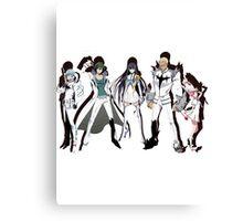 Satsuki and the Elite Four Canvas Print