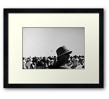 Into your Head Framed Print