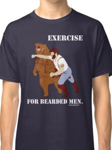 Exercise for Bearded Men Classic T-Shirt
