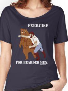 Exercise for Bearded Men Women's Relaxed Fit T-Shirt