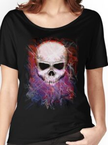 Color Skull Women's Relaxed Fit T-Shirt
