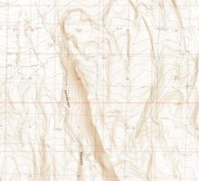 USGS Topo Map Oregon Fandango Canyon 279845 1986 24000 Sticker