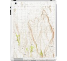 USGS Topo Map Oregon Fandango Canyon 279845 1986 24000 iPad Case/Skin