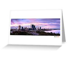 Perth City Greeting Card