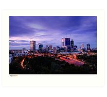 Perth Long Exposure Art Print