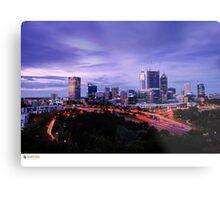 Perth Long Exposure Metal Print