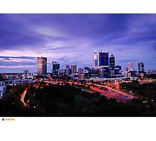 Perth Long Exposure Photographic Print