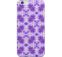 Tracery of Snow Flakes iPhone Case/Skin