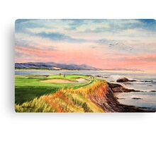 Pebble Beach Golf Course  Canvas Print