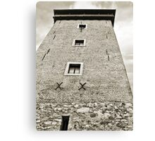 Dubovac Tower Canvas Print