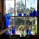 Glimpse at the Kitchen Window  by DEB CAMERON