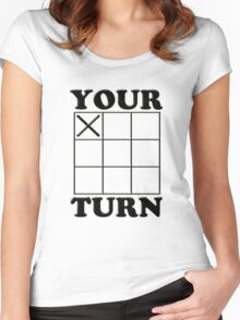 Your Turn Women's Fitted Scoop T-Shirt
