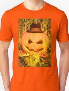 scary pumpkin hat Unisex T-Shirt