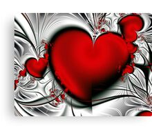 Bleeding Love Canvas Print