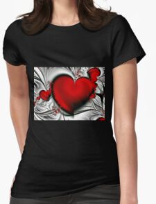 Bleeding Love Womens Fitted T-Shirt