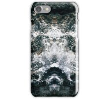 Mirrored Waves iPhone Case/Skin
