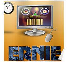 Ernie, Premium Bond picker Poster