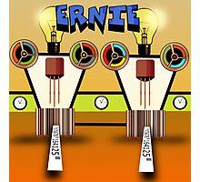 Ernie, Premium Bond picker Robot version. Photographic Print