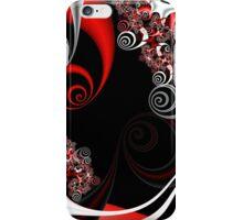 Red Smoke iPhone Case/Skin