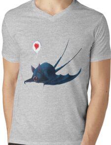 Zubatt Loves You Mens V-Neck T-Shirt