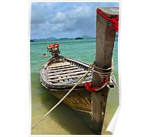 Long Boat of Thailand Poster
