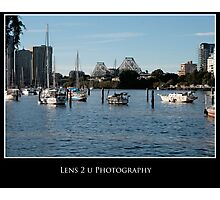 Lazy Saturday by the river Photographic Print