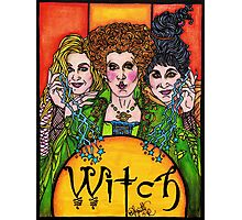 Witch Sisters Photographic Print