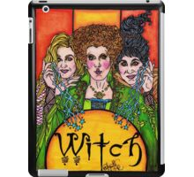Witch Sisters iPad Case/Skin