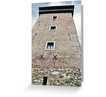 Dubovac Tower Greeting Card