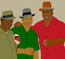 3 Buds by PharrisArt