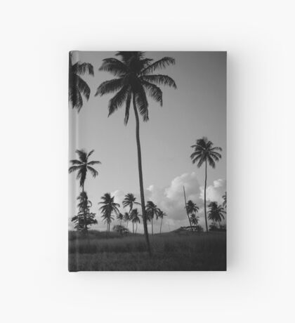 Lonely Palm Trees Hardcover Journal