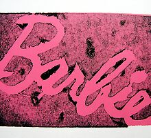 'Barbie' Print 2 by Holly Daniels