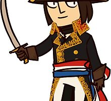 Tiny Napoleon by annmonster
