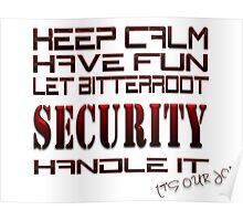 Keep Calm Have Fun Poster