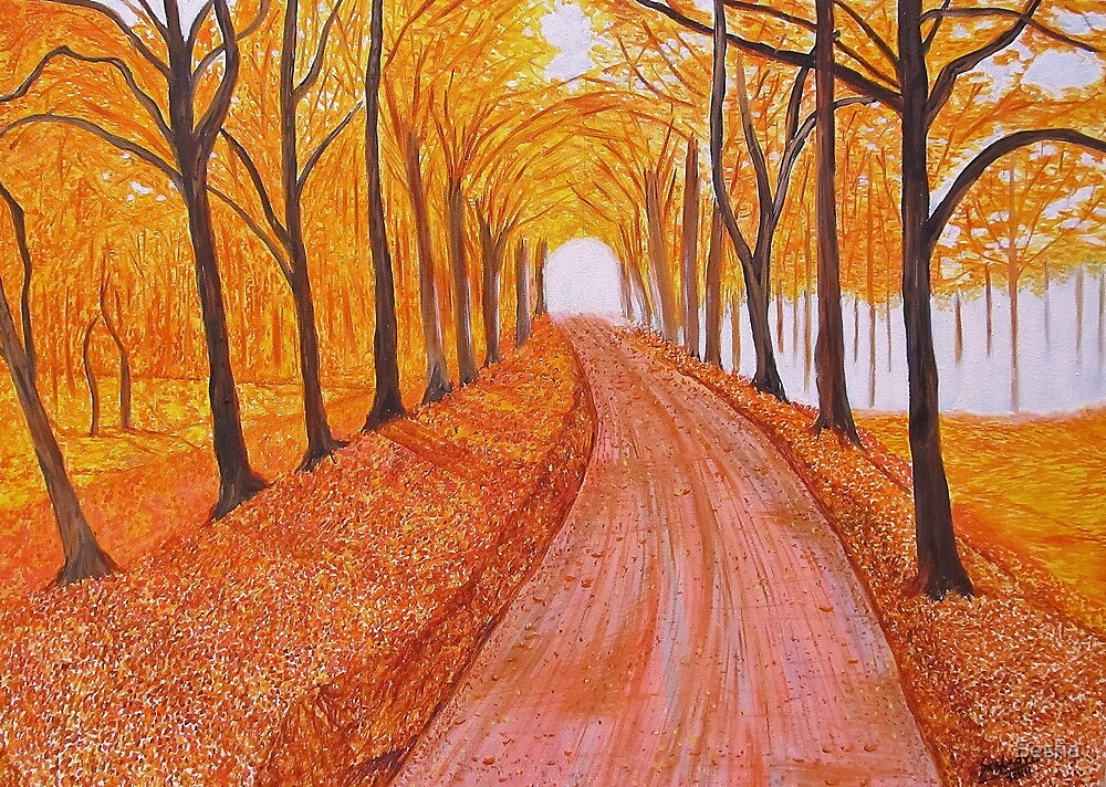 Autumn Walk by Sesha