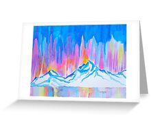 Mountain Fountain Greeting Card
